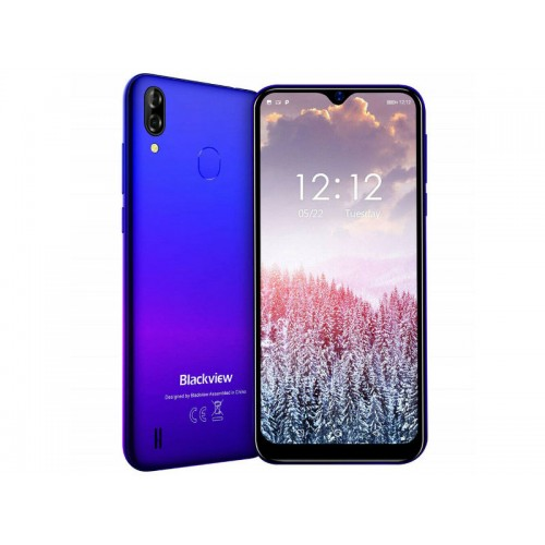 "Smartphone 6.088"" 19.2:9 Blackview A60 Pro Blue 64Bit Quad 2.0GHz/3GB/16GB/Dual SIM/5MP+8MP/A9.0"