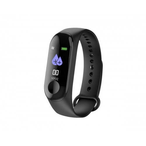 Smart Bracelet LDK W115 Black Pedometer Activity Tracker Reminder